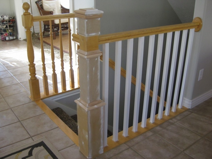 Perfect Installing Newel Post And Spindles Image 093
