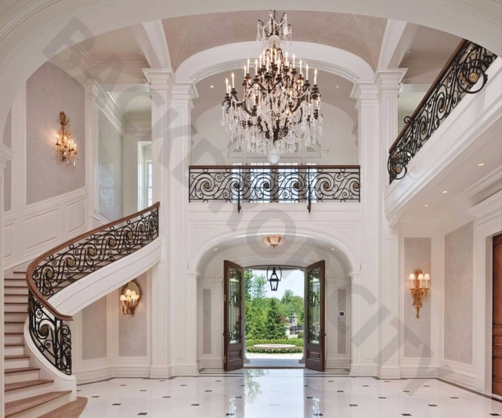 Perfect Mansion Stairs Design Photo 075