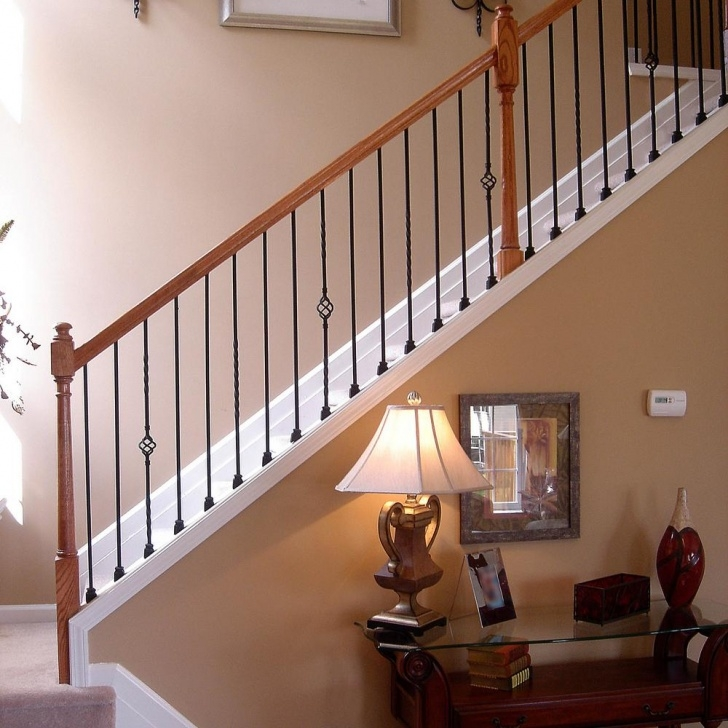 Perfect Metal Balusters Interior Image 287