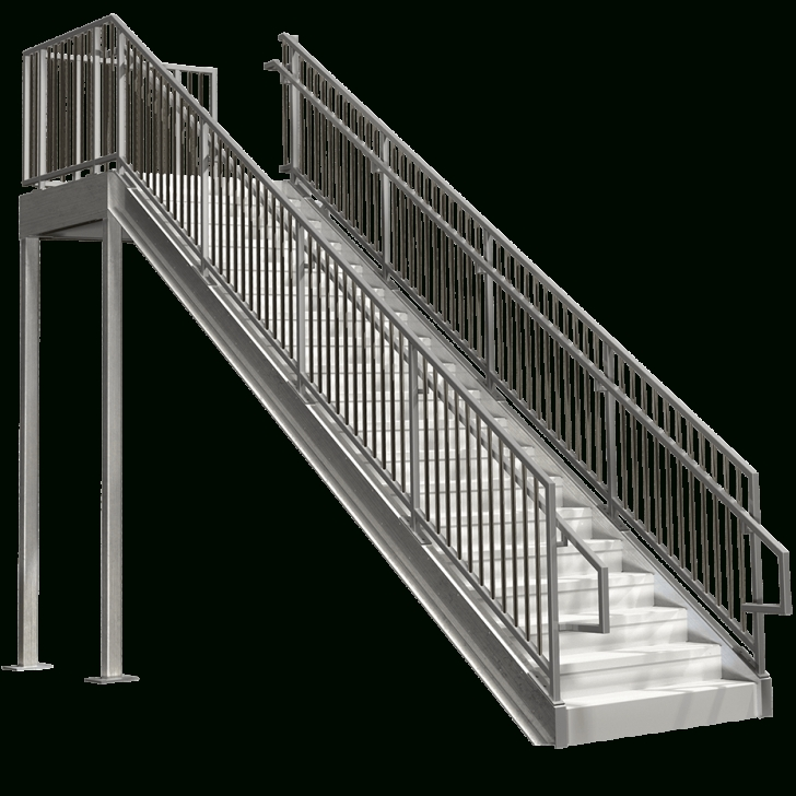 Perfect Prefabricated Metal Stairs Picture 018