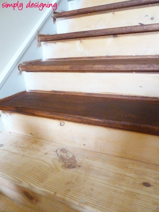 Perfect Sanding And Staining Stairs Picture 784