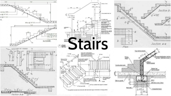 Perfect Staircase Design Plans Photo 546