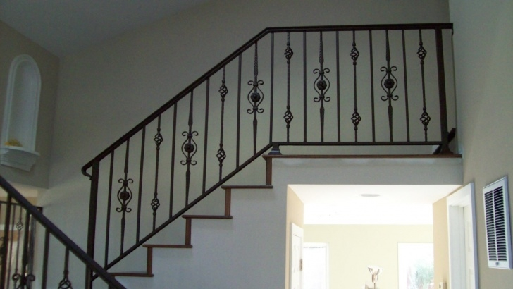Perfect Stairs Railing Designs In Steel Photo 182