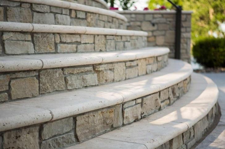 Perfect Stone Steps Design Photo 882