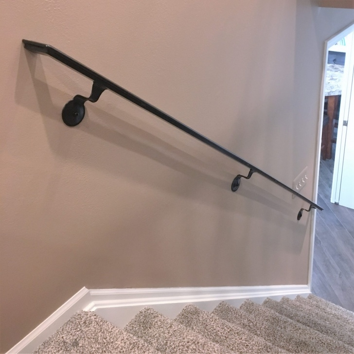 Perfect Wall Mounted Handrail For Stairs Photo 388