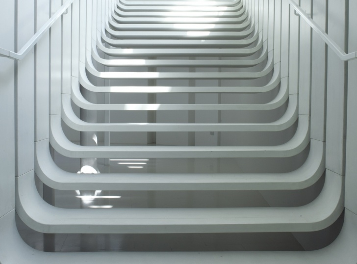 Perfect Zaha Hadid Stair Picture 719