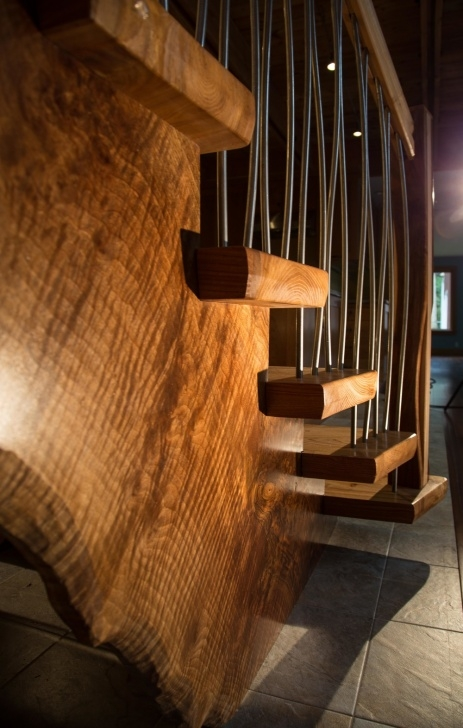 Popular Custom Wood Stairs Photo 991