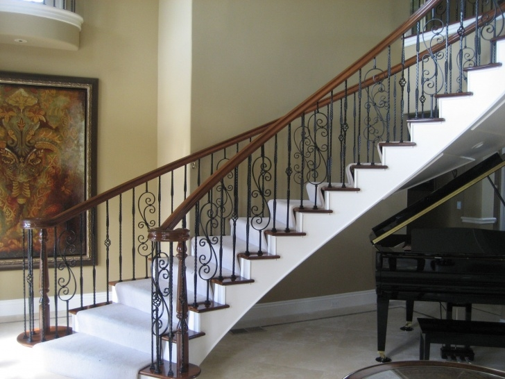 Popular Decorative Stair Railing Photo 417