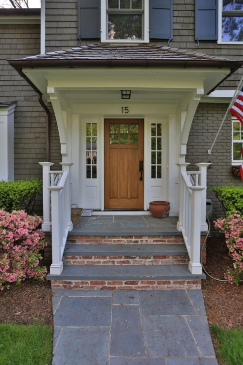 Popular Front Door Brick Steps Design Image 170