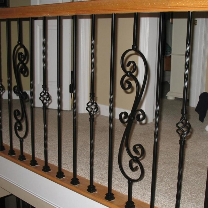 Popular Iron Balusters Lowes Photo 071