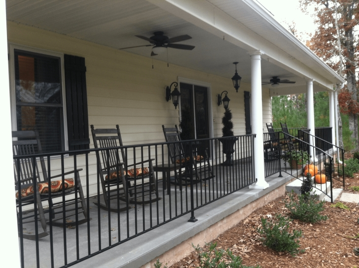 Popular Porch Handrails Metal Picture 598