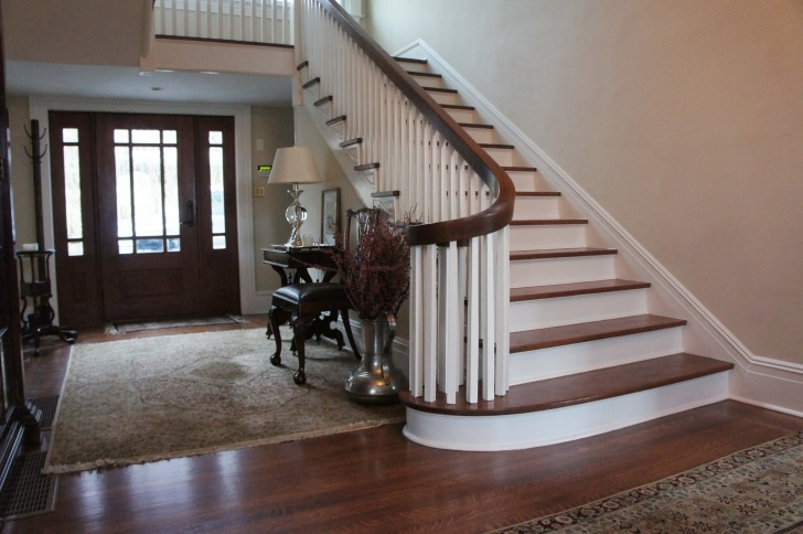 Popular Refinishing Hardwood Stairs Photo 234
