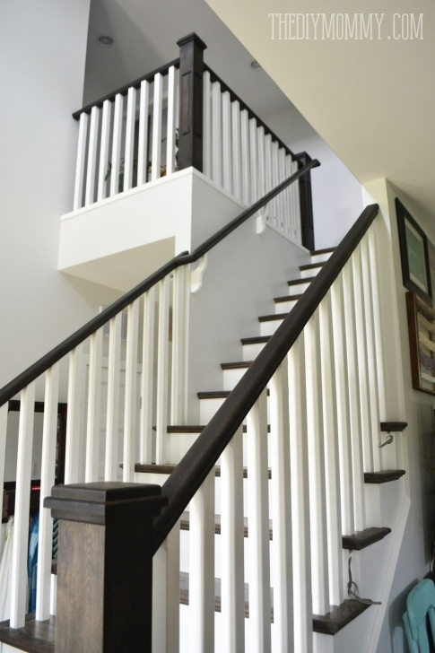 Popular Staining Stair Rails Picture 908