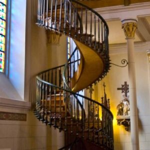 Stairs Of Loretto Chapel