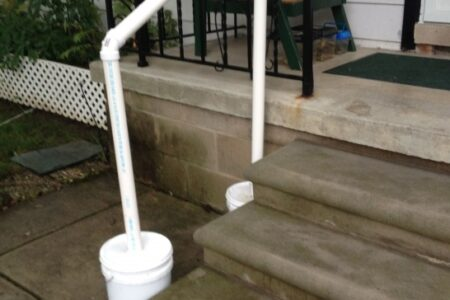 Temporary Handrail For Stairs