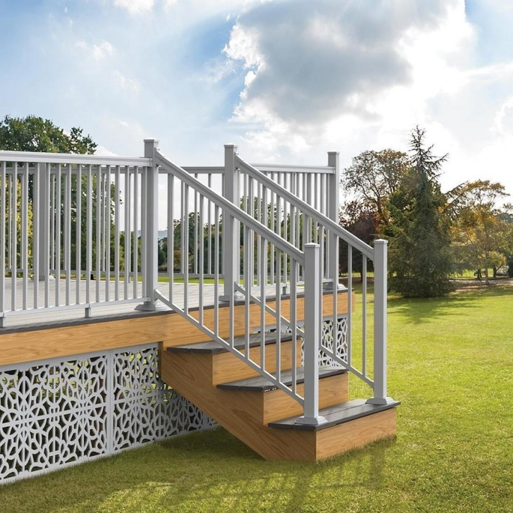 Remarkable Aluminum Stair Railing Image 056