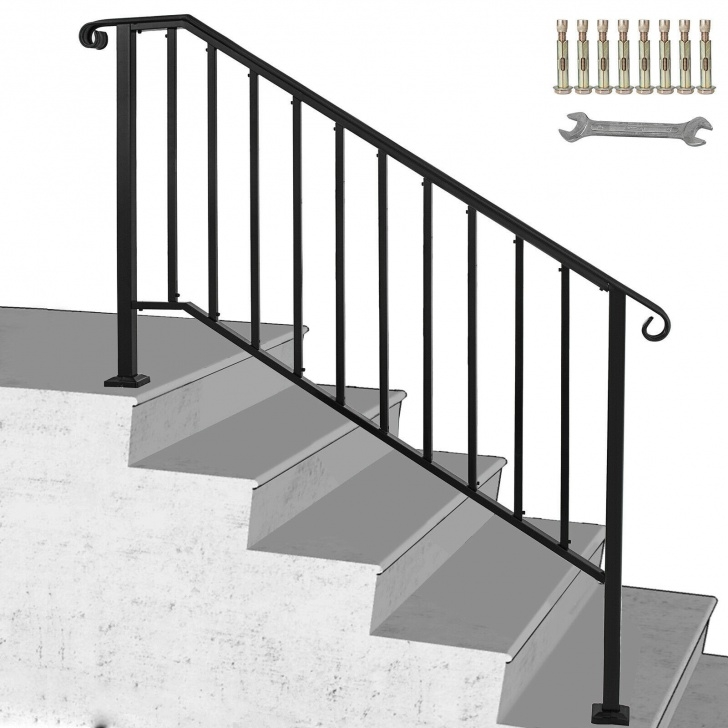 Remarkable Black Iron Handrail Photo 826