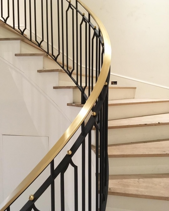 Remarkable Brass Stair Rail Photo 392