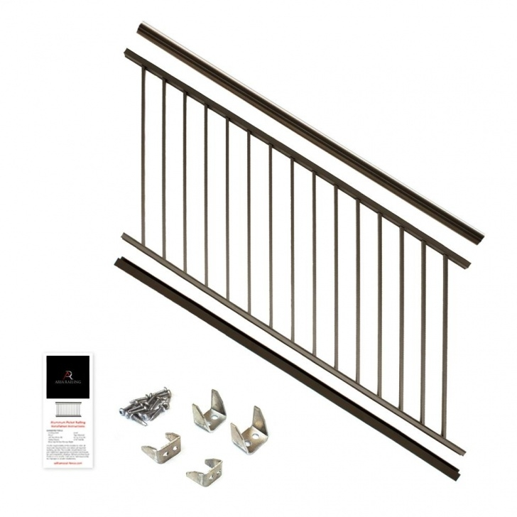 Remarkable Bronze Stair Railing Photo 731