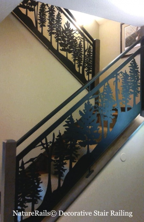 Remarkable Decorative Stair Railing Photo 145