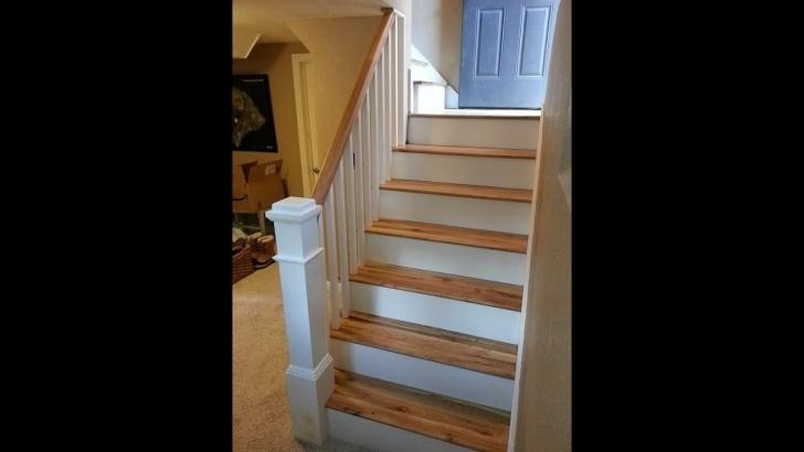 Remarkable Finishing Stairs With Hardwood Image 927