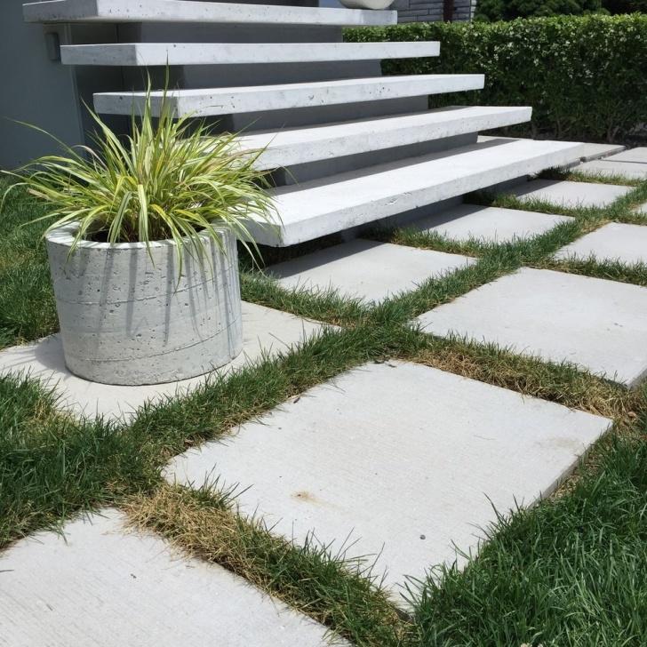 Remarkable Floating Concrete Steps Designs Image 013