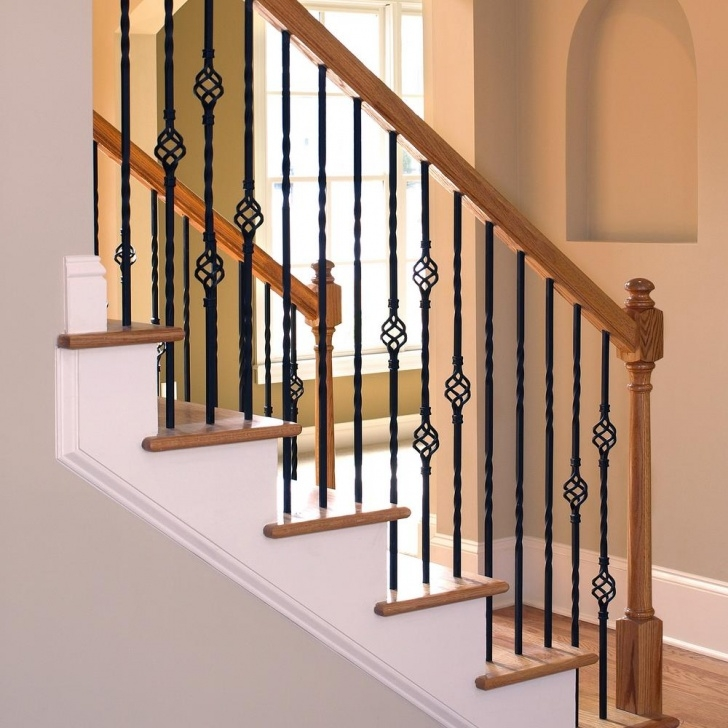 Remarkable Iron Spindles For Staircase Image 226