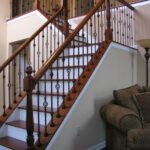 Remarkable Iron Stair Railing Indoor Photo 900