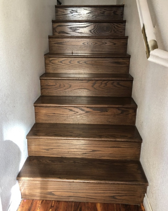 Remarkable Painted Wood Steps Photo 375
