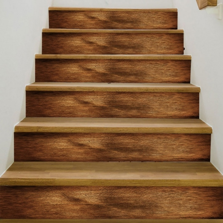 Remarkable Wood Tile Stairs Photo 182