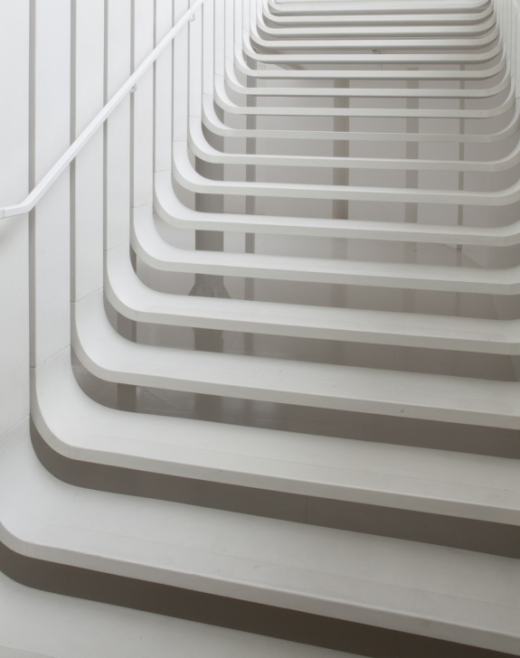 Remarkable Zaha Hadid Stair Picture 603