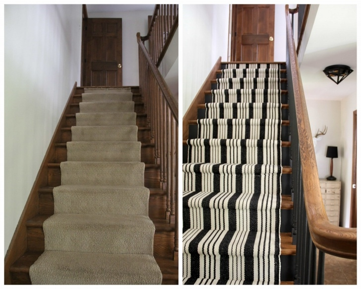 Sensational Black And White Stair Runners Picture 681