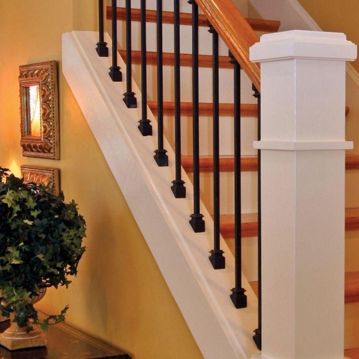 Sensational Black Spindle Staircase Image 067