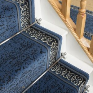 Blue Stair Runners