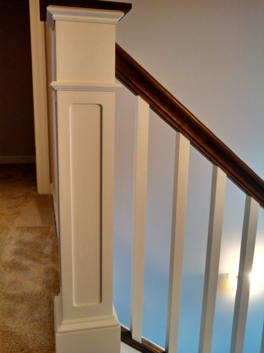 Sensational Craftsman Style Newel Post Picture 065
