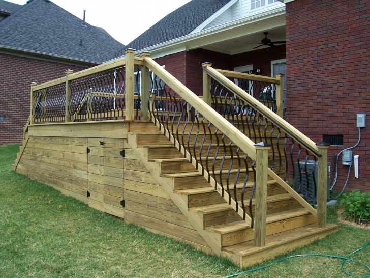 Sensational Deckorators Stair Railing Photo 503