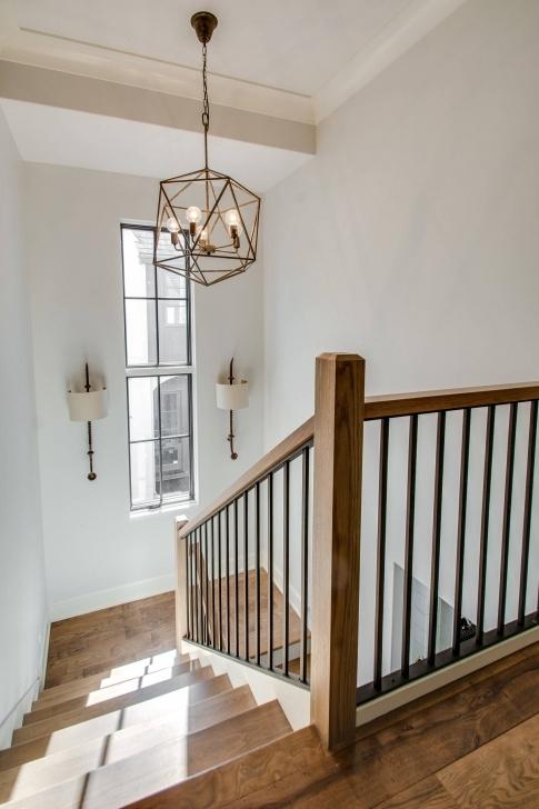 Sensational Farmhouse Stair Railing Picture 017