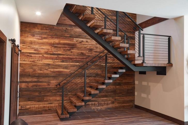 Sensational Floating Wood Stairs Image 976
