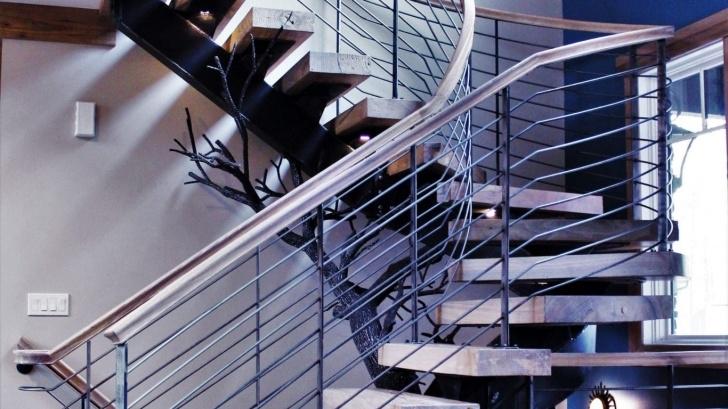 Sensational Metal Staircase Company Image 861