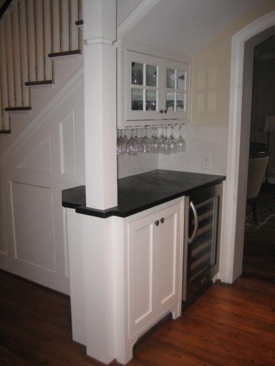 Sensational Mini Bar Design Under The Stairs Photo 743