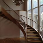 Sensational Modern Curved Staircase Image 709
