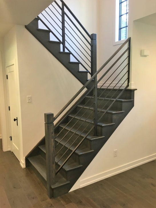 Sensational Modern Metal Stair Railing Photo 878