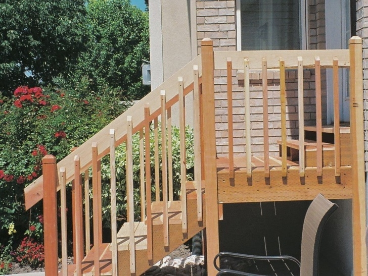 Sensational Outdoor Wood Stair Railing Picture 188