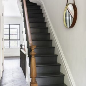 Painted Indoor Stairs