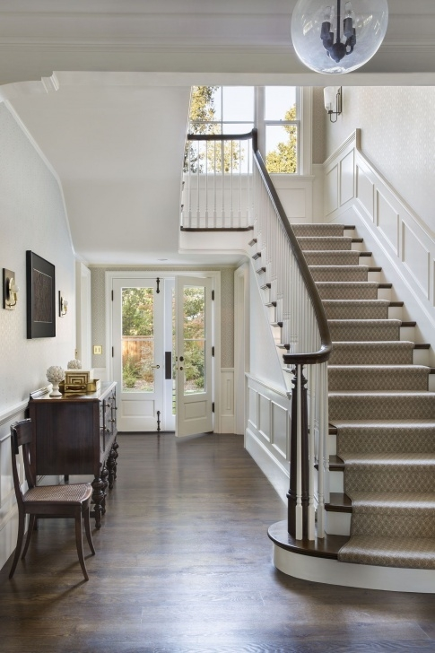 Sensational Stair Hall Design Photo 814