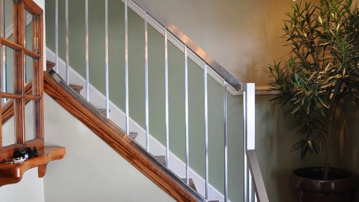 Sensational Stairs Railing Designs In Steel Photo 203