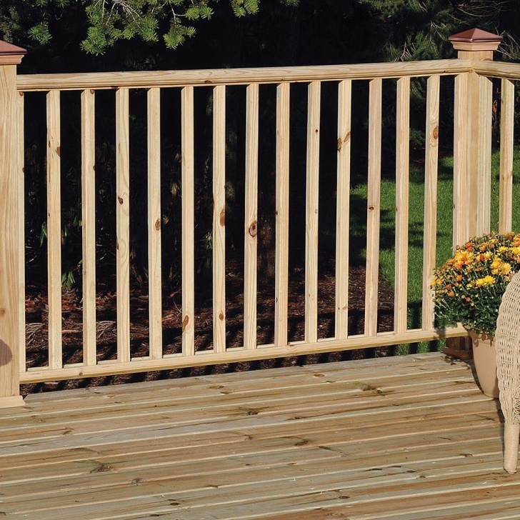 Sensational Wood Handrail For Deck Image 417