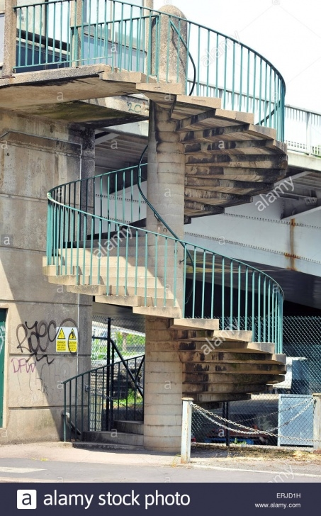 Simple Concrete Circular Staircase Photo 393