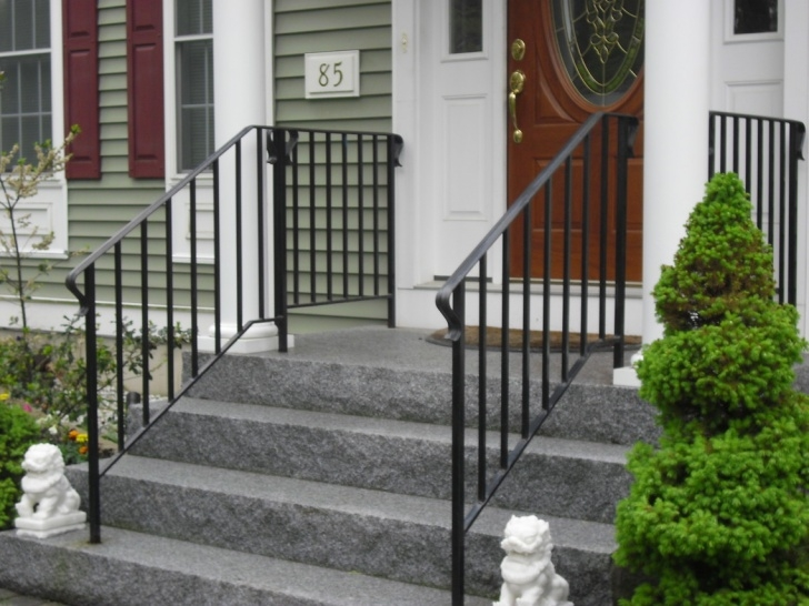 Simple Front Stair Railing Photo 525