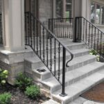 Simple Front Step Railing Picture 400
